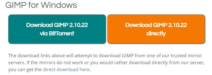 Download GIMP