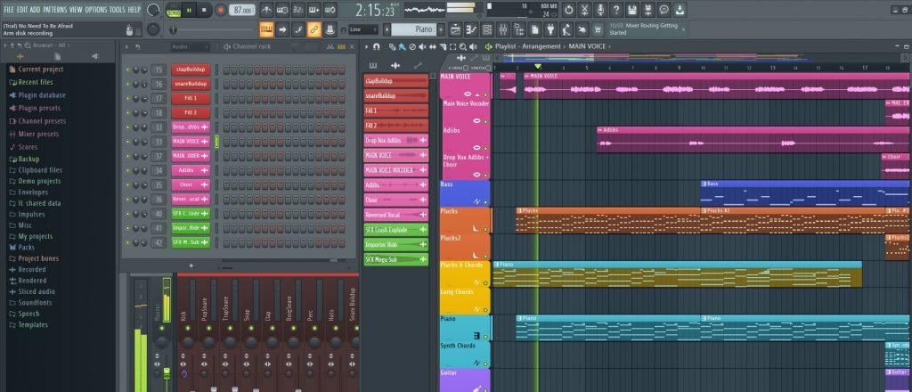 FL Studio Sound Board