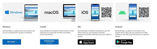 Try Microsoft Edge