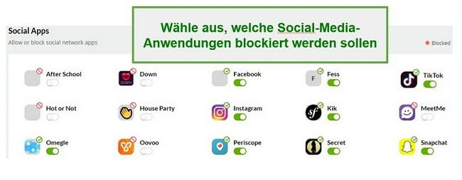 Mobicip Social Media Monitoring