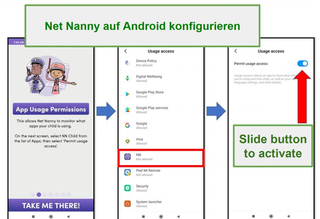 Net Nanny für Android