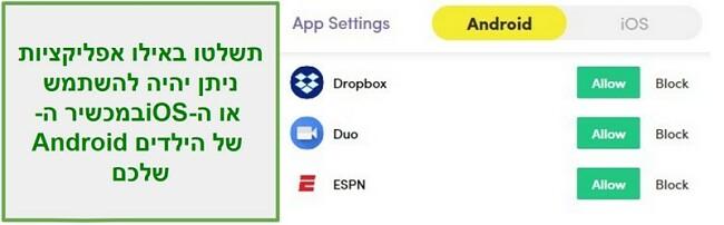 נני מטפלת ניהול אפליקציות
