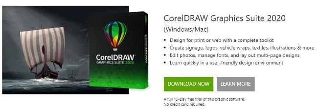 Download Free CorelDRAW suite