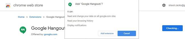 قم بتنزيل Google Hangouts