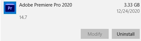 Uninstall Adobe Pro
