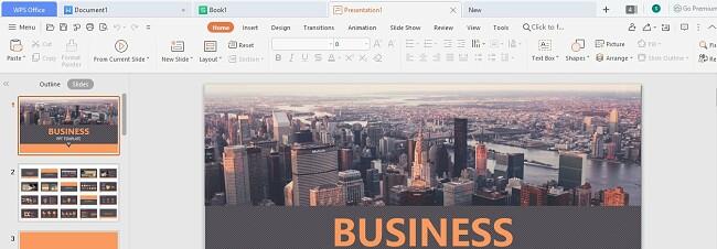 WPS Office Presentation
