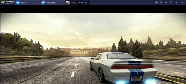 Need for Speed Most Wanted on Bluestacks