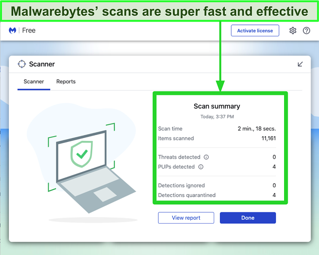 5 Best 100 Free Antivirus Software For Mac Tested 2021