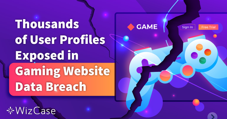 Thousands of User Profiles Exposed in Gaming Website Data Breach