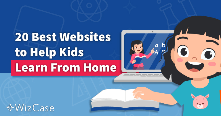 20 Best Websites to Help Kids Learn From Home in 2021