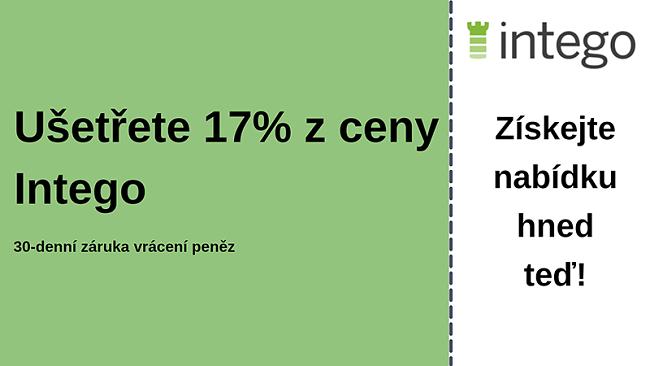 Antivirový kupón Intego se 17% slevou a 30denní zárukou vrácení peněz