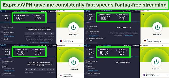 ExpressVPN speed test Raya and the Last Dragon