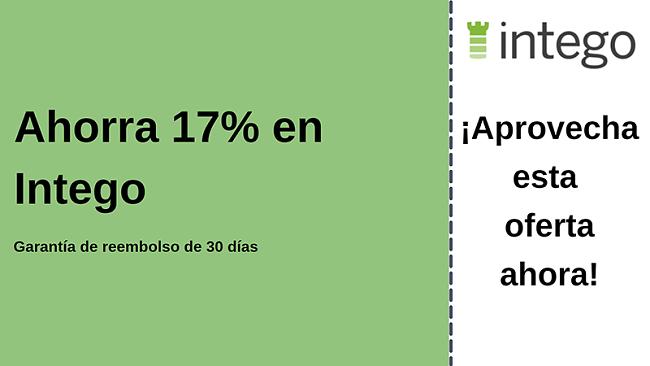 Cupón antivirus Intego con 17% de descuento y garantía de devolución de dinero de 30 días