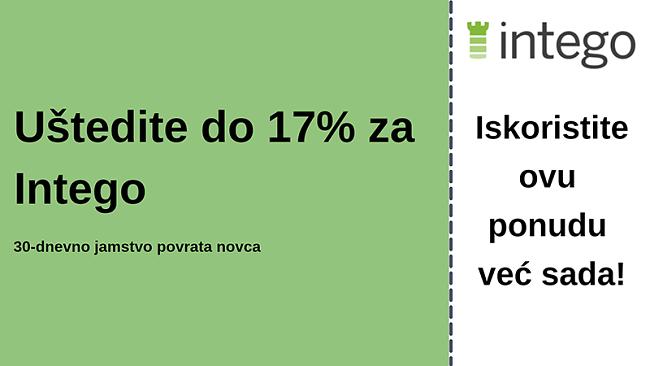 Intego antivirusni kupon s popustom od 17% i povratom novca u roku od 30 dana