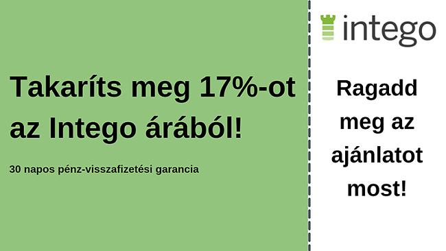 Intego antivírus kupon 17% kedvezménnyel és 30 napos pénz-visszafizetési garanciával