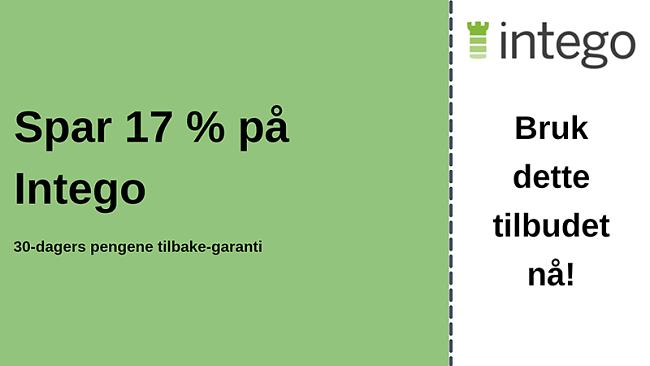 Intego antivirus-kupong med 17% rabatt og 30-dagers pengene-tilbake-garanti