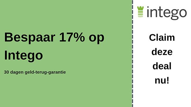 Intego antivirus kortingsbon met 17% korting en 30 dagen geld-terug-garantie