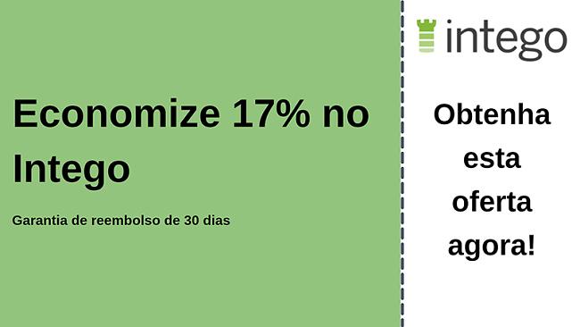 Cupom antivírus Intego com 17% de desconto e garantia de devolução do dinheiro em 30 dias