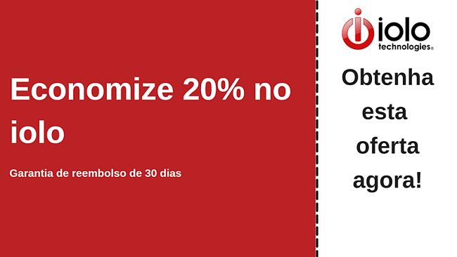 Cupom de antivírus iolo com até 20% de desconto em todos os planos e garantia de devolução do dinheiro em 30 dias