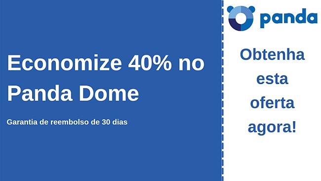 Cupom antivírus da Panda com 40% de desconto e garantia de devolução do dinheiro em 30 dias