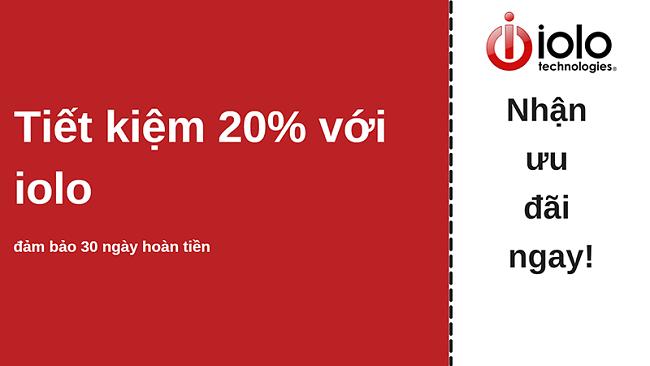 phiếu giảm giá chống vi-rút iolo giảm giá tới 20% cho tất cả các gói và đảm bảo hoàn tiền trong 30 ngày