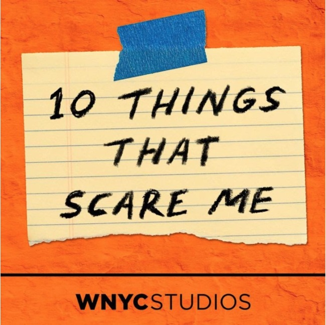 10 Things That Scare Me Podcast Cover