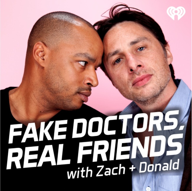 Fake Doctors, Real Friends Podcast Cover