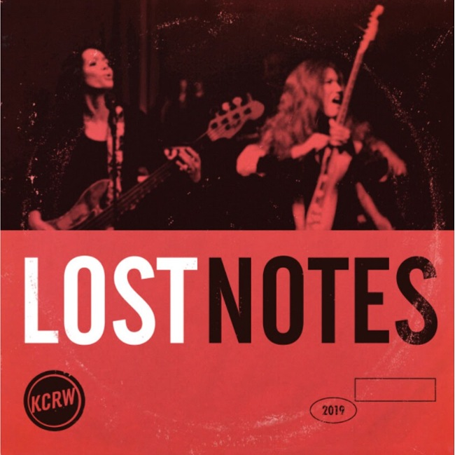 Lost Notes Podcast Cover from 2019