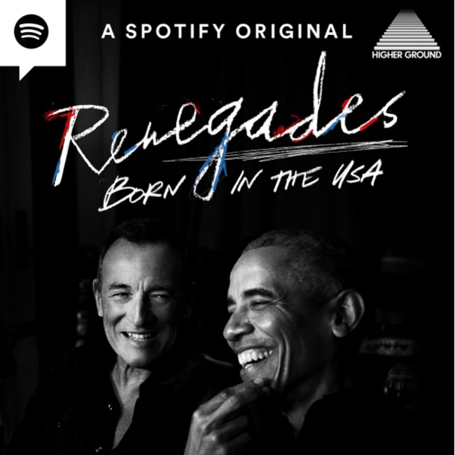 Renegades: Born in the USA Podcast Cover