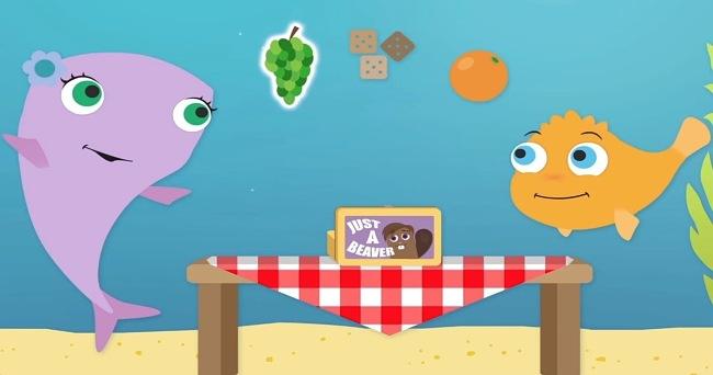 Screenshots of the Aiko & Egor Animation 4 Autism app