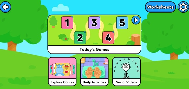 Screenshot of the AutiSpark: Games for Kids with Autism app