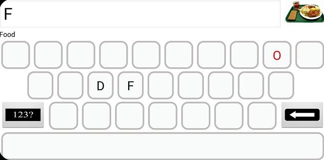 Screenshot of the Autism Read & Write Pro app