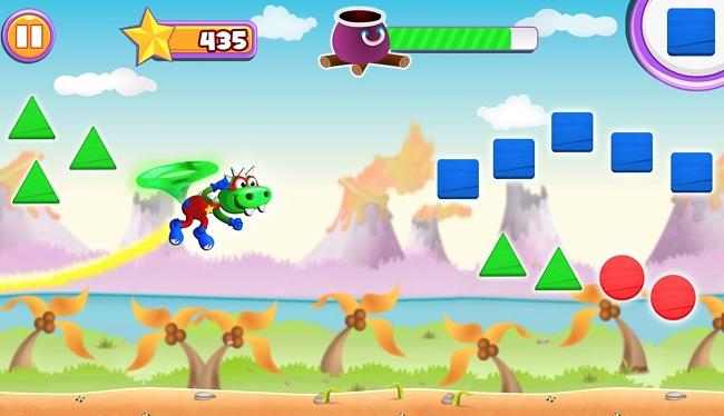 Screenshot of the Dino Tim Full Version: Basic Math for Kids app