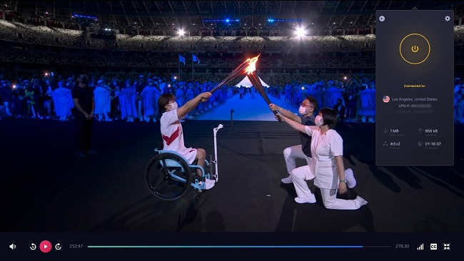 I could stream the Tokyo Olympics lag-free with CyberGhost