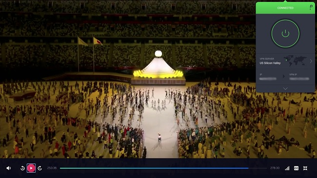 PIA's encryption let me stream Olympic events easily