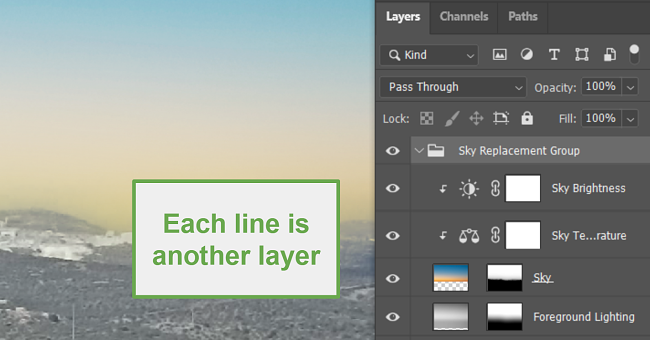Using Layers with photoshop