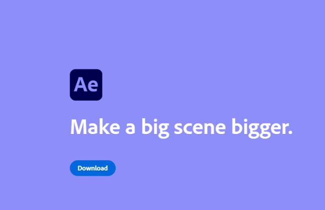 Adobe After Effect download