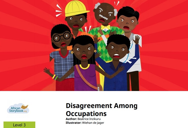 Disagreement Among Occupations by Beatrice Inzikuru