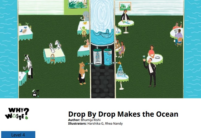 Drop by Drop Makes the Ocean by Bhumija Rishi