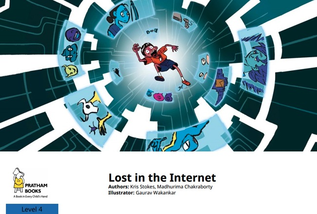 Lost in the Internet by Kris Stokes and Madhurima Chakraborty