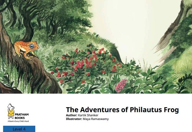 The Adventures of Philautus Frog by Kartik Shanker