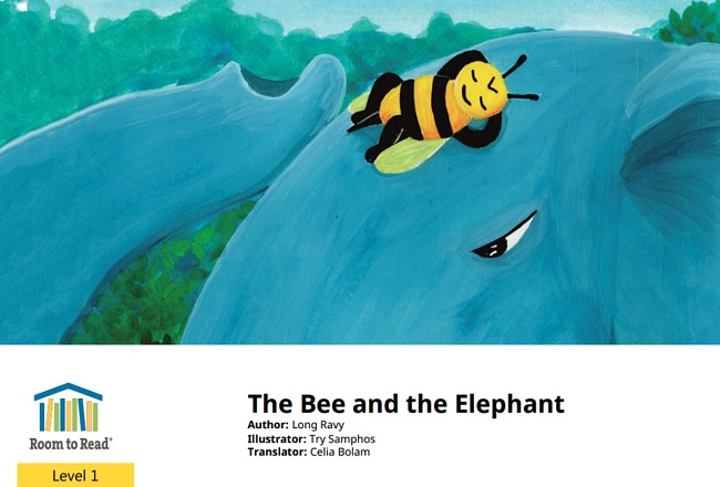 The Bee and the Elephant by Long Ravy