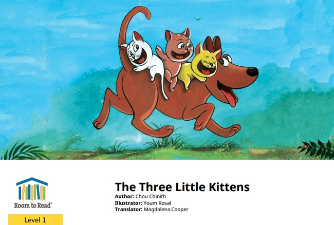 The Three Little Kittens by Chou Chinth