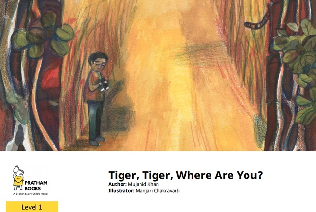 Tiger, Tiger, Where Are You? By Mujahid Khan