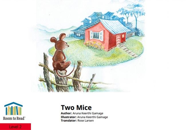 Two Mice by Aruna Keerthi Gamage