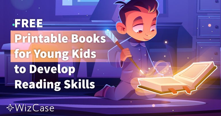 FREE Printable Books for Young Kids to Develop Reading Skills